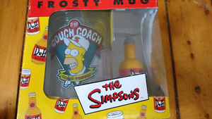 Simpsons frosty mug NIB