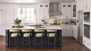 Maple Solid Wood Kitchen Cabinet&Counter top