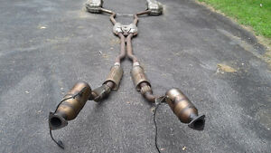 2007 Audi A4 B7 3.2 complete exhaust system