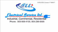 For all Electrical work, licensed Experienced Electrician