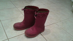 Size 3 Kids winter boots