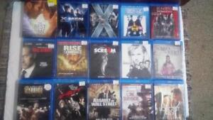 Assorted Blu-Ray Movies $5.00 Each or Buy 5 Get 1 Free
