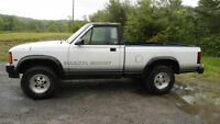 PRICE DROP THIS WEEK ONLY 1989 Dodge Dakota CONVERTIBLE 4x4 rare