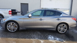 Infiniti Q50 TECH, STAGE 2  520HP/640TORQUE FINANCEMENT FACILE