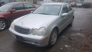 2001 C240 Mercedes LOW KMS