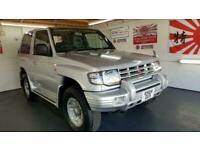 Mitsubishi Pajero 3500cc automatic in silver 3 door fresh japanese import 1998