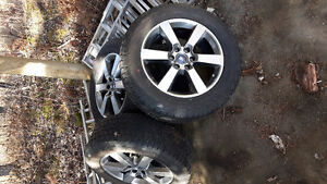 """Brand new 20"""" Rims and tires off a 2016 F150"""