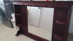 'All Wood' -Mirror unit for Dresser Peterborough Peterborough Area image 5