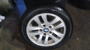 "16"" aluminum BMW wheels"