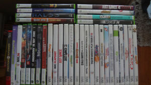 Nintendo Wii, XBOX 360 Video Games For Sale! $3 Each