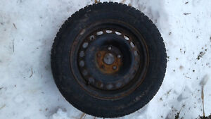 195/65R15 WINTER TIRES WITH WHEELS