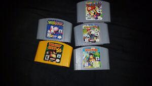 Nintendo 64 games for sale