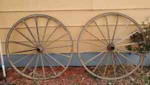 2 WAGON WHEELS!!! 250!!!!