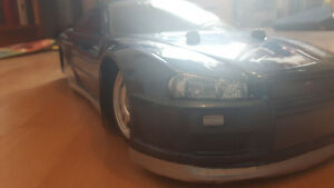Skyline 1/10 RC body skybat