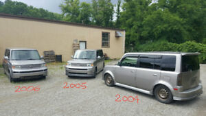 2 Scion xB's - 2004 $1700 - 2005 $3000 - 2006 Parts Car SOLD