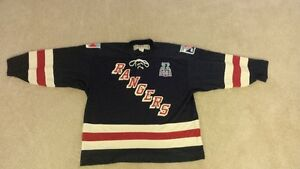 RARE OHL KITCHENER RANGERS 1984/2008 MEMORIAL CUP JERSEY
