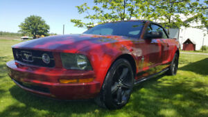 2008 ford mustang convertible