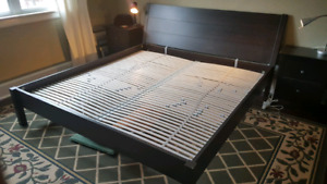 Ikea king sized bed frame