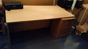 Solid Executive Desk in Great Condition