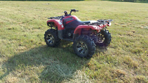 2002 grizzly 660 mint