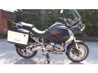 2008 (08) BMW R 1200GS MU, Slate Grey Metallic, Low Mileage