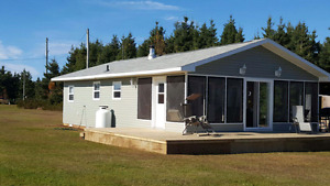 Cascumpec PEI Waterfront Cottage Rental
