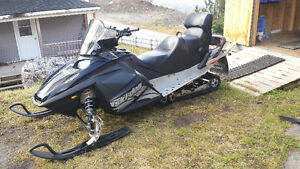Ski doo expedition 550 fan