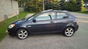 2008 Hyundai Accent Coupe  - More than a beater for winter