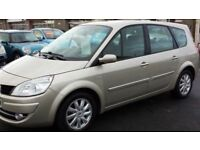 RENAULT SCENIC DYNAMIQUE 130 DCI 1870cc MPV DIESEL LOW MILES YEARS MOT SERVICE HISTORY