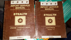DODGE STEALTH MANUALS AND PARTS