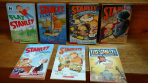 10 Flat Stanley chapter books by Jeff Brown