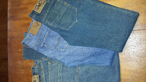 Size 30 jeans young men. American eagle/west 49