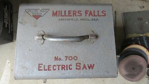 MILLERS FALLS TOOLS-- OLD