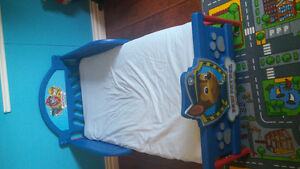 Paw patrol bed and matress