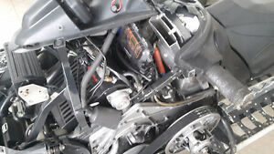 Yamaha Nytro Turbo Kit and Engine