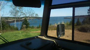 Camping on the Bay of Fundy