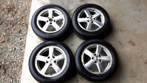 Honda Accord Rims with tires