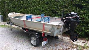 14 ft Aluminum boat package
