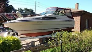 Sea Ray 26ft Sundancer with Trailer (Must sell by end of season)