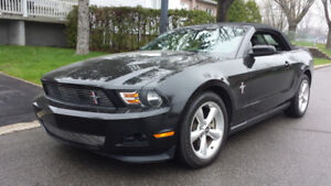 MUSTANG 2012 PREMIUM V-6 305 H.P. AUTOMATIC ,A/C , FULL , CUIR ,