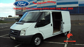 2010 FORD TRANSIT 2.2TDCi DURATORQ WHITE DIESEL VAN 85PS / 260S Low Roof SWB