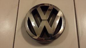 Volkswagen VW front grille emblem chrome OEM