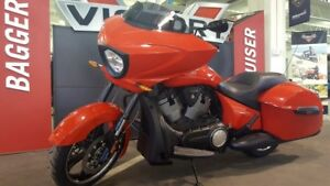 2016 Victory Cross Country Havasu Red with Clear Pearl