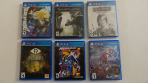 Playstation 4  Collection- Gravity Rush, Life Is Strange Witcher