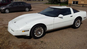 Interesting trades for 1984 corvette targa top coupe