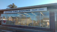 Grand Opening - Second Time Around Thrift Store