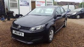2010 VOLKSWAGEN POLO 1.2 70 S 5dr [AC]