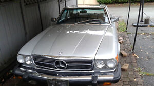 LOW Miles (43K!!!) COLLECTOR '76 Mercedes 450SL