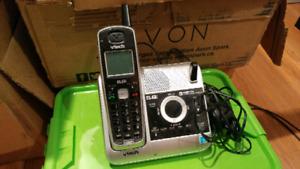 Téléphone et répondeur