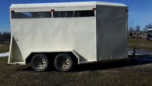 Horse Trailer- 2 Horse Slant with Dressing Room $4000